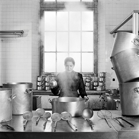 the kitchen vii by marina abramovic