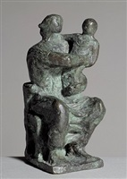 madonna and child by henry moore