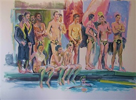 california water polo team by mcwillie chambers