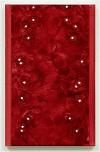 untitled (deep red) by robert holyhead