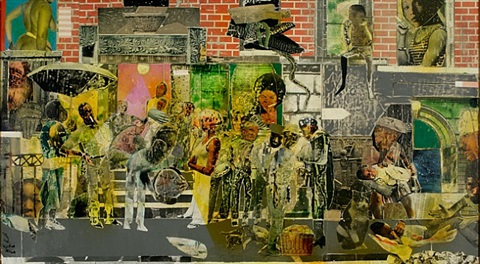 on such a night as this by romare bearden