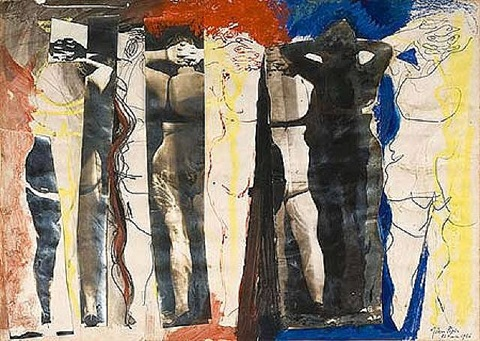 composition with nudes by john piper
