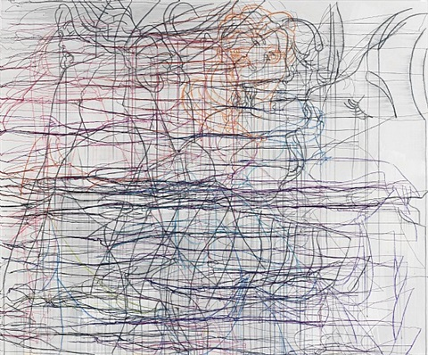 the fortune teller by ghada amer