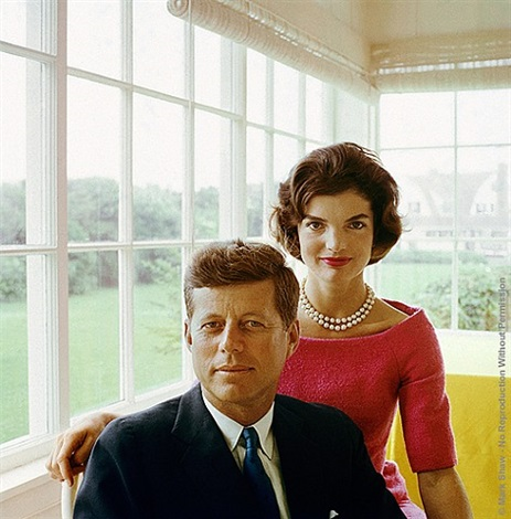 jacqueline and john f. kennedy at hyannis port by mark shaw