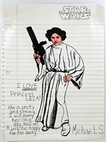i love princess leia! by michael scoggins