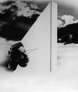 cut paste photomontage manipulation in the pre-digital age by herbert matter