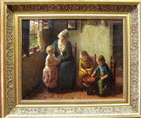 mother and her children by bernard pothast