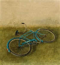 the blue bicycle by arthur biehl