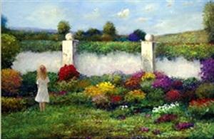 in the garden by troy acker