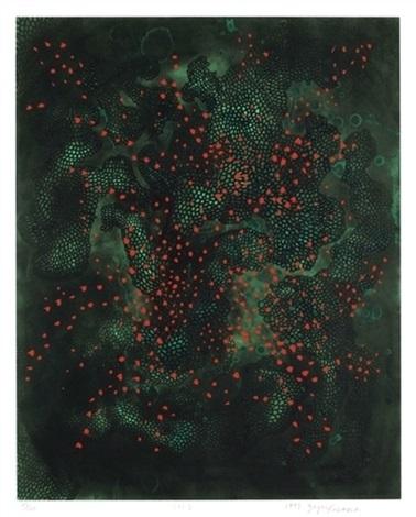 fireflies by yayoi kusama