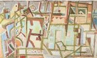 forio d'ischia (città meridionale) by eduard bargheer