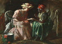 the fortune teller by harry herman roseland