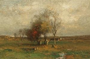 on the meadow by john francis murphy