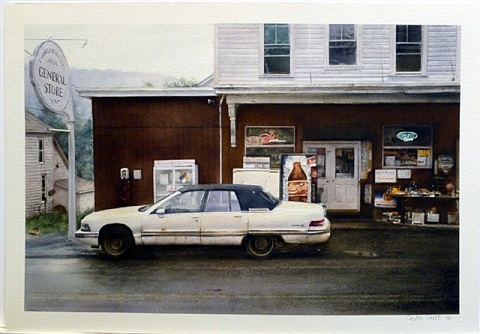 general store, charlotteville, ny by john salt