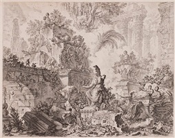 le magnificenze di roma (a set of thirty-six plates) by giovanni battista piranesi