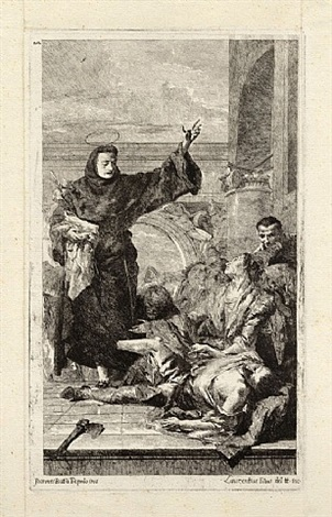 a miracle of saint anthony of padua by lorenzo baldissera tiepolo
