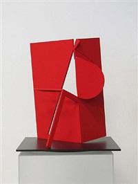 folded square alphabet p by fletcher benton