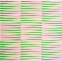 pink and green by richard allen