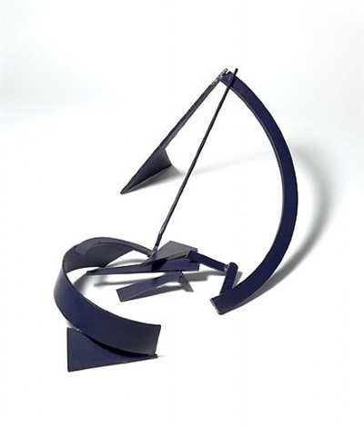 floor piece 'hé' by anthony caro