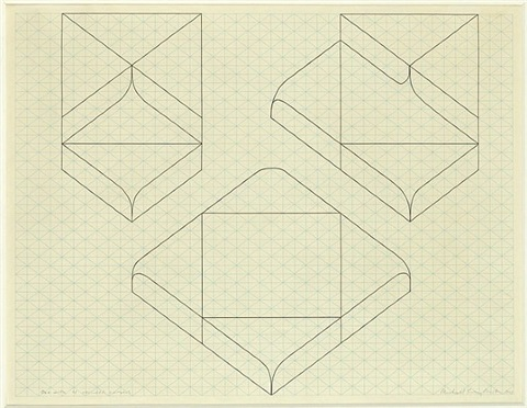 box with four rounded corners by michael craig-martin