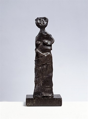 piccola figura (one of a kind sculpture) by marino marini