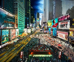 broadway, nyc by stephen wilkes