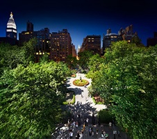 gramercy park, nyc by stephen wilkes