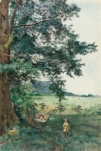 summer afternoon by charles lewis fussell