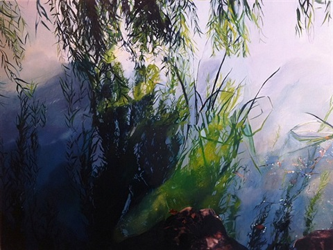 inversion reflection willow by emma tapley
