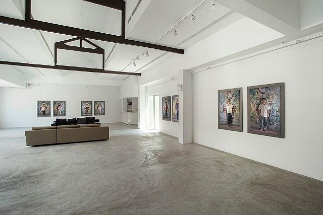 installation view - shirin neshat 2 by shirin neshat