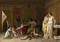 une arrestation by pierre olivier joseph coomans