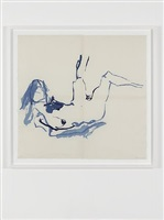 soft blue by tracey emin