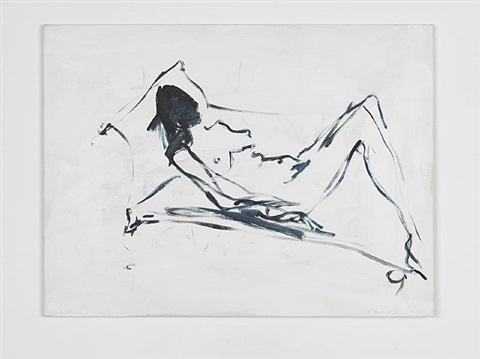 just thinking by tracey emin