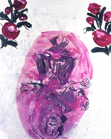 tanz mit arm, 9.ix.97 by georg baselitz