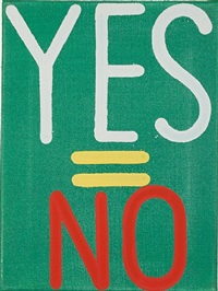 yes=no #23 by joshua abelow