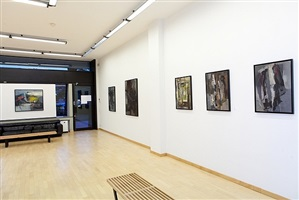 installation view galleria open art 2012 by walter fusi