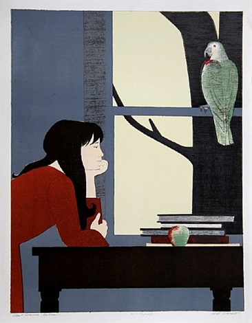 silent season - autumn by will barnet