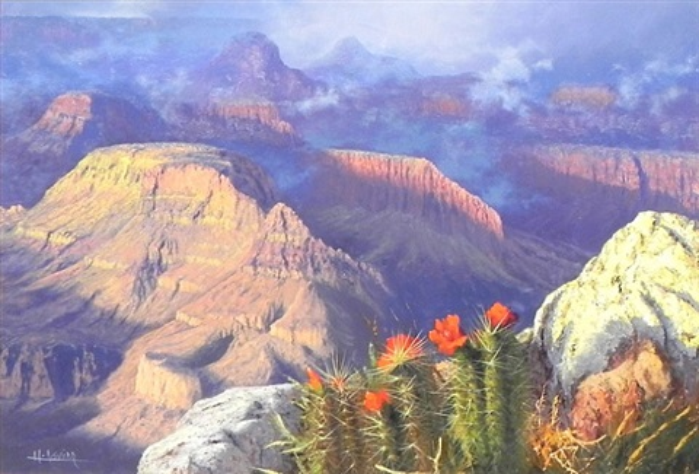 canyon rim by huertas aguiar
