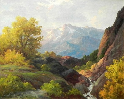 topanga canyon by robert william wood