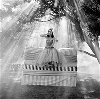 zoe on mattress by rodney smith