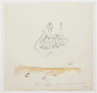 untitled (the three sisters, godesses of the desert) by pavel pepperstein