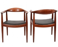 the chair: pair by hans j. wegner