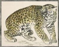 leopard by ludwig heinrich jungnickel