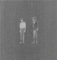 untitled (men in hats) by janis avotins