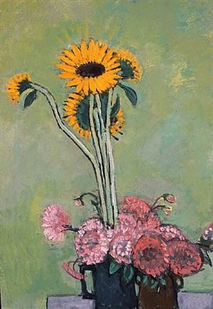 sunflowers by peter heinemann