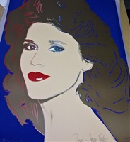 jane fonda (f&s ii. 268) by andy warhol