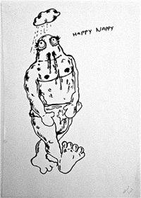 happy nappy by bjarne melgaard