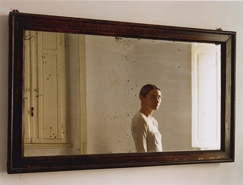 in the mirror i by elina brotherus