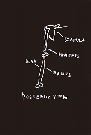 posterior view by jean-michel basquiat