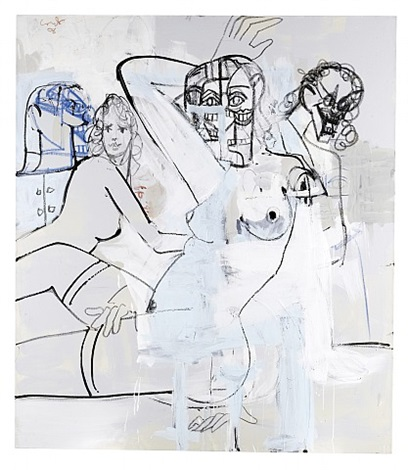 female composition by george condo